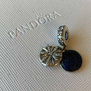 PANDORA DAZZLING WISHES DANGLE CHARM